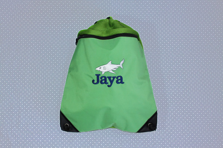 Shark Scuba Bag-Wet Bag, Shark, Backpack, School, Camp, Waterproof