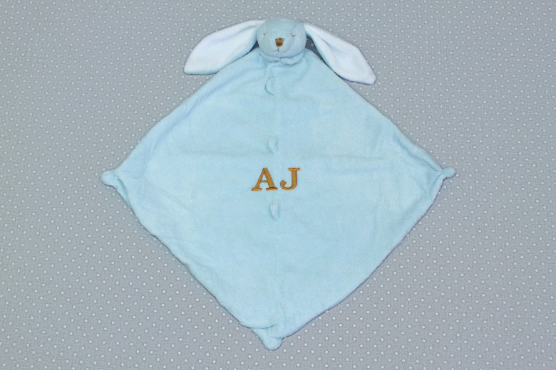 Blue Bunny Lovie-