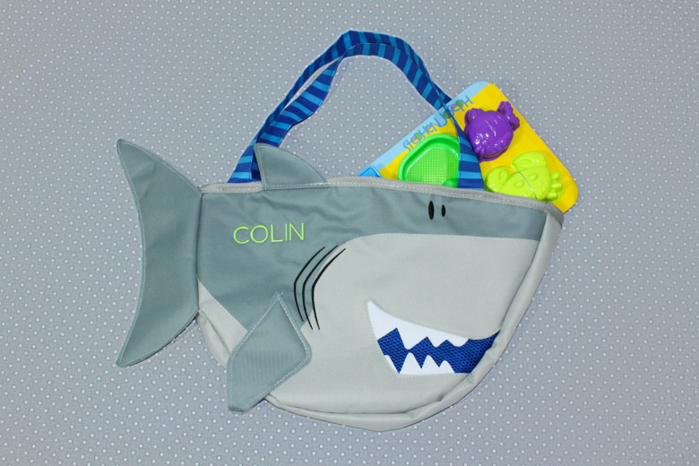 Shark Beach Tote-