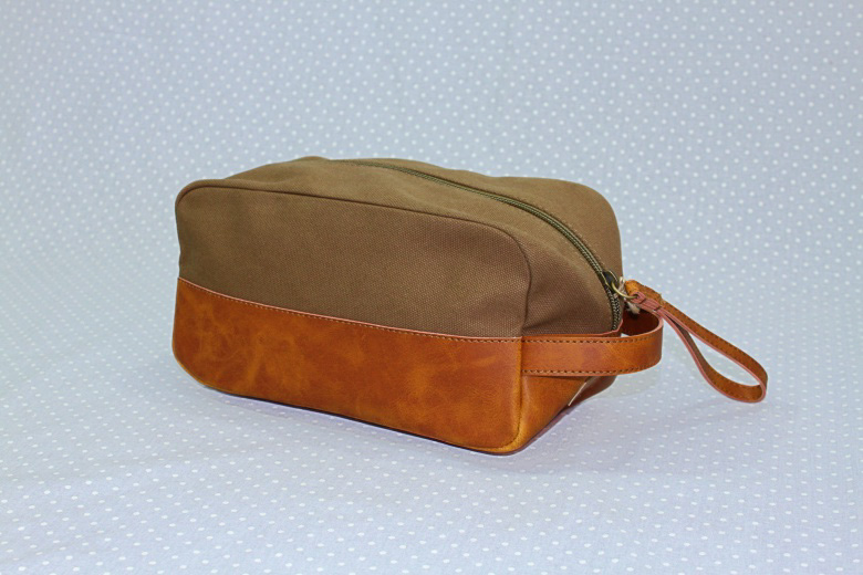 Army Green Toiletry Bag-
