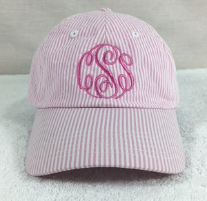 Unisex Lightweight Cotton Seersucker Cap-